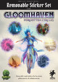 Gloomhaven Removable Sticker Set: Forgotten Circles
