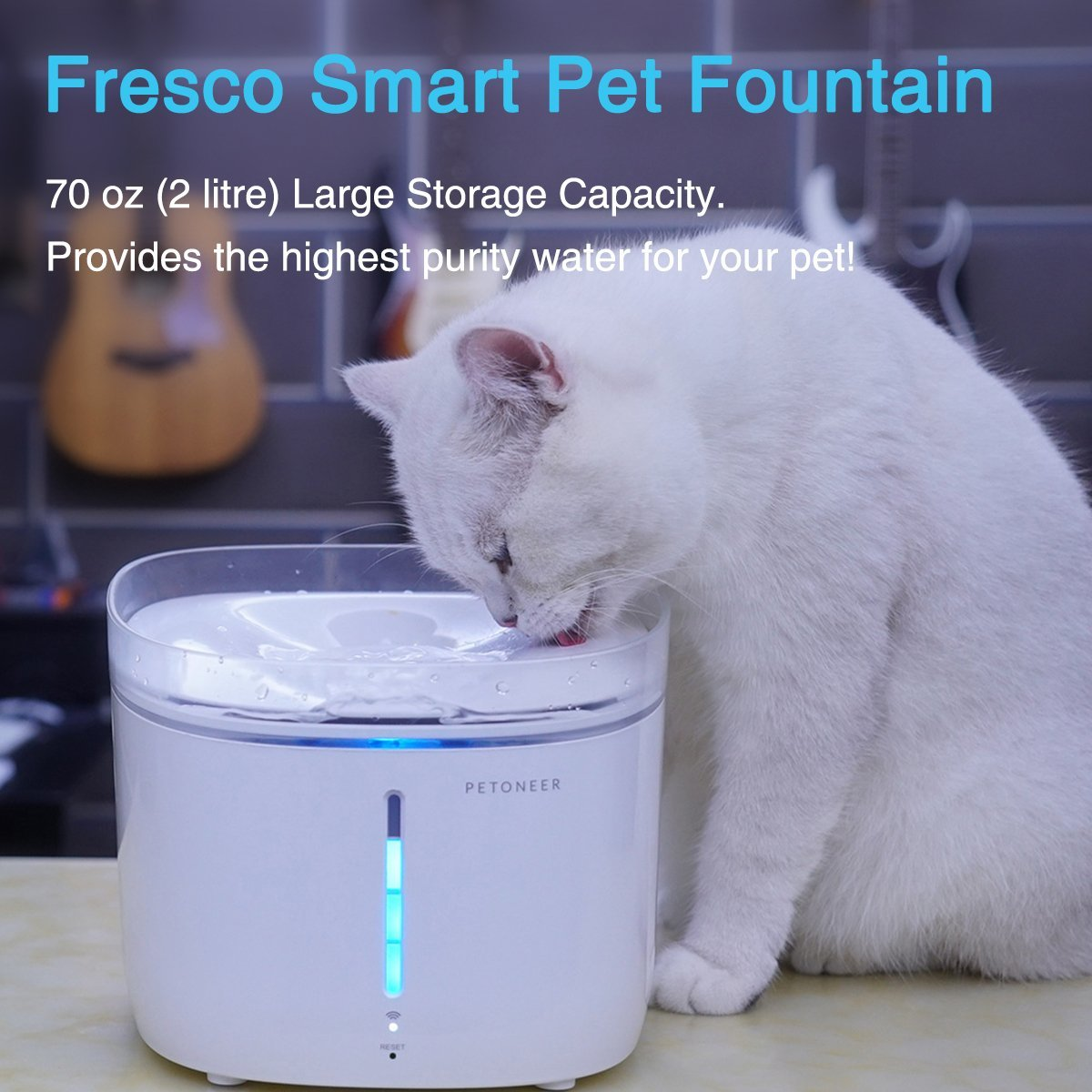 Petoneer: Fresco Pro Smart Pet Fountain image