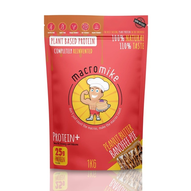 Macro Mike Protein+ - Banoffee Pie (1kg)