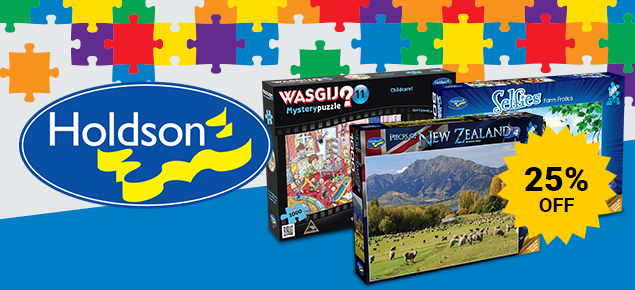 25% off Holdson Puzzles!