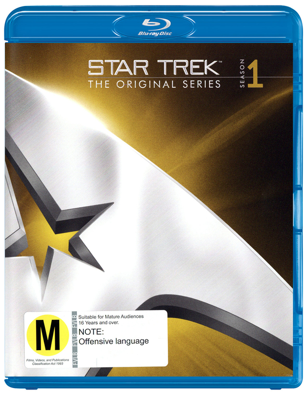 Star Trek The Original Series - The Complete First Season Remastered on Blu-ray