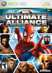 Marvel: Ultimate Alliance for Xbox 360