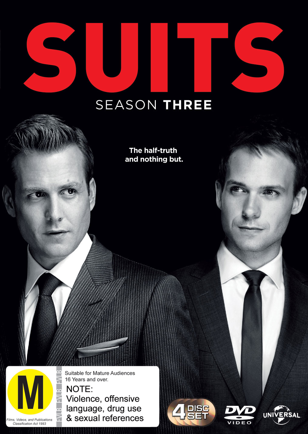 Suits - Season Three on DVD image