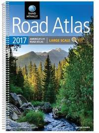 2017 Road Atlas Large Scale