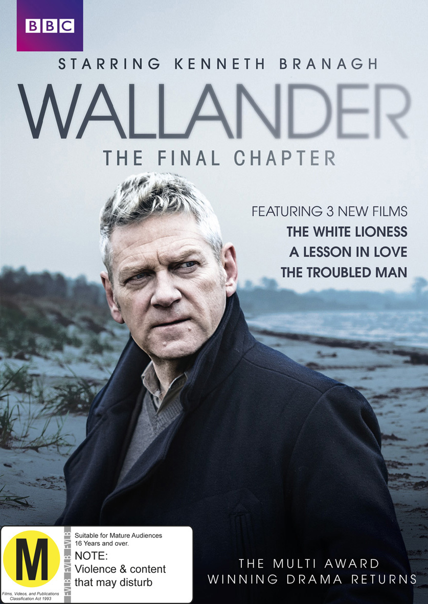 Wallander - Series 4 (The Final Chapter) on DVD image
