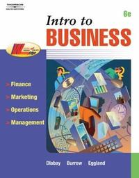 Intro to Business by Steven A. Eggland image