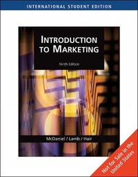 Introduction to Marketing, International Edition by Carl McDaniel image