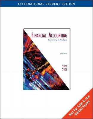 Financial Accounting by Earl Stice