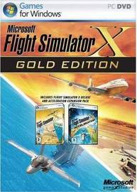 Flight Simulator X Gold Edition (includes expansion) for PC Games