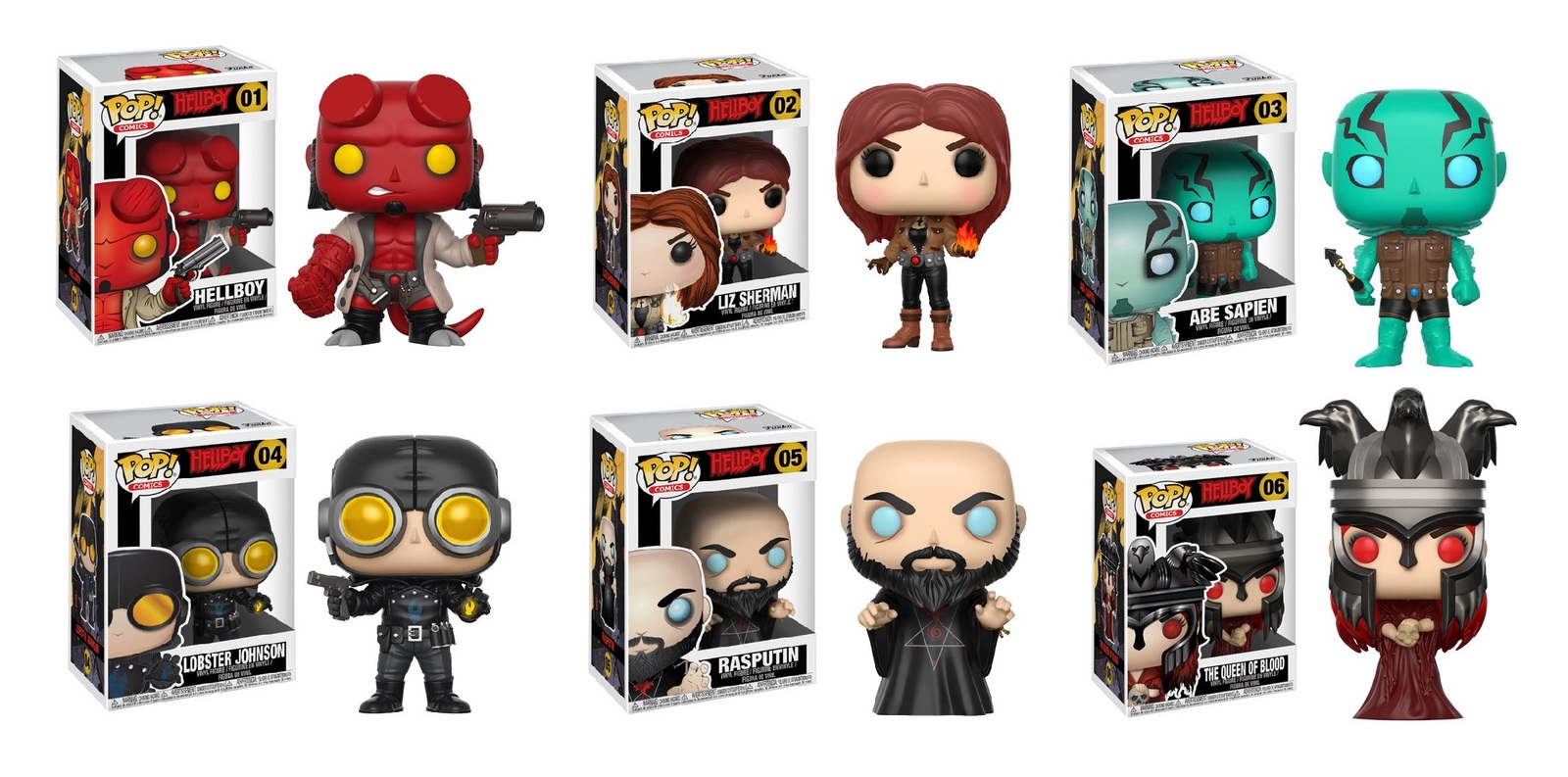 Hellboy - Pop! Vinyl Bundle (with a chance for a Chase version!) image
