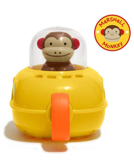 Skip Hop: Zoo Pull & Go Submarine Monkey image