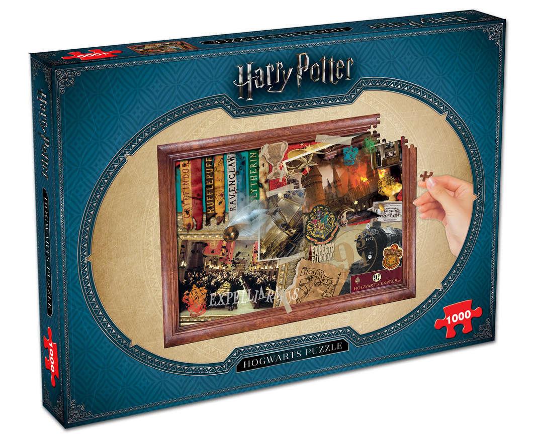 Harry Potter: 1000 Piece Puzzle - Hogwarts image