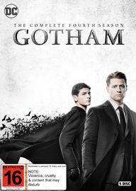 Gotham: Season 4 on DVD