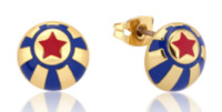 Disney: Dumbo Circus Ball Stud Earrings - Gold