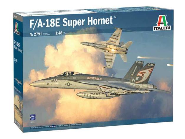 Italeri: 1/48 McDonnell Douglas F/A-18 E Super Hornet - Model Kit