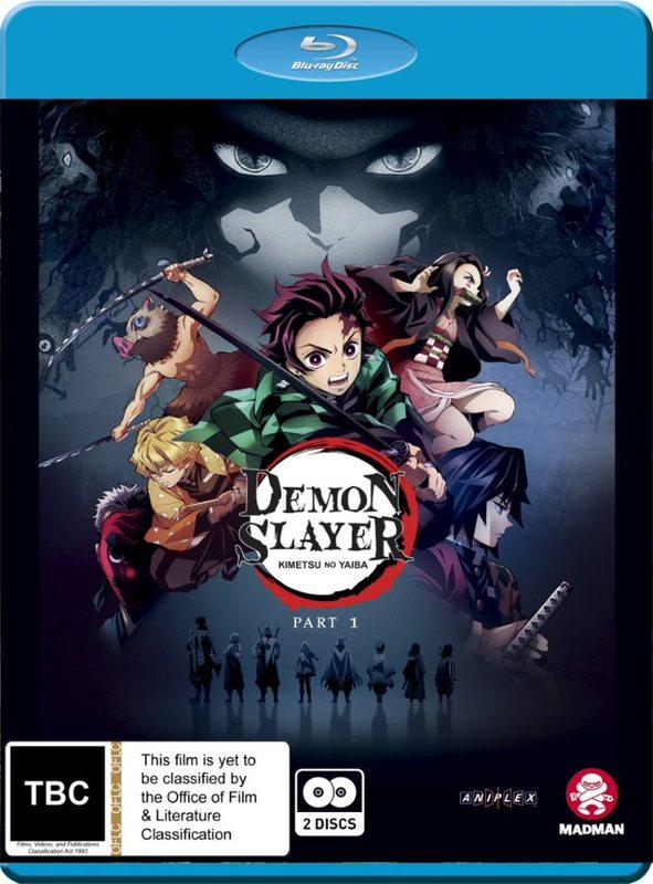 Demon Slayer - Kimetsu No Yaiba: Part 1 (Eps 1-13) on Blu-ray