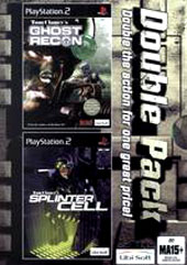 Splinter Cell + Ghost Recon Bundle for PS2