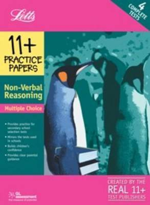 11+ Practice Papers, Multiple-choice Non- Verbal Reasoning Pack: Contains 4 Tests - 11A, 11B, 11C, 11D by NferNelson image