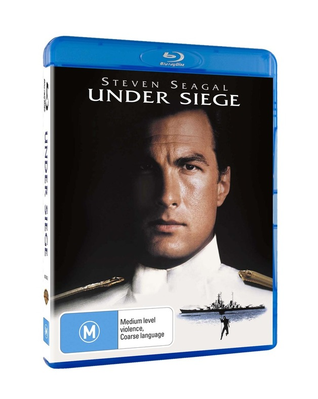 Under Siege on Blu-ray