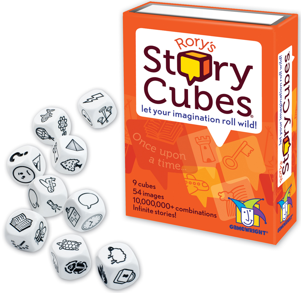 Rory's Story Cubes - Let Your Imagination Roll Wild! image
