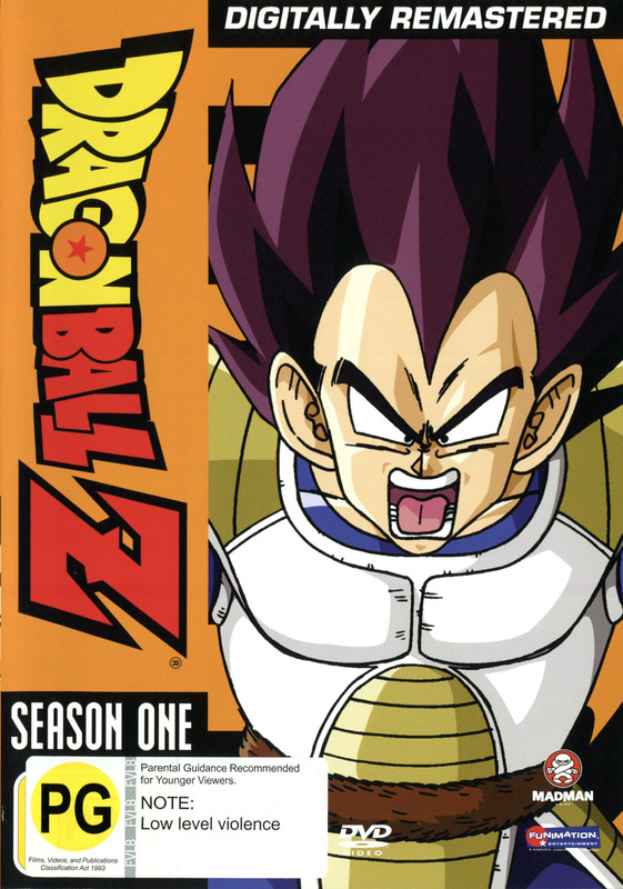 Dragon Ball Z - Season 1 on DVD