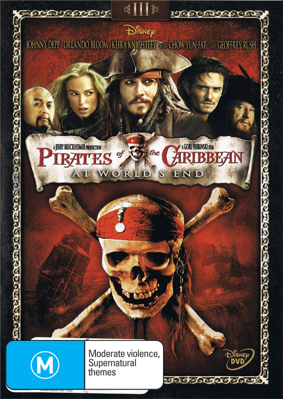 Pirates of the Caribbean - At World's End on DVD