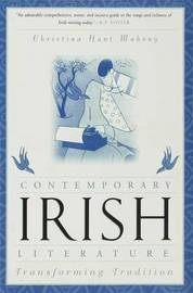 An Introduction to Contemporary Irish Literature by Christina Hunt Mahony image