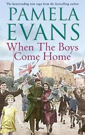 When The Boys Come Home by Pamela Evans image