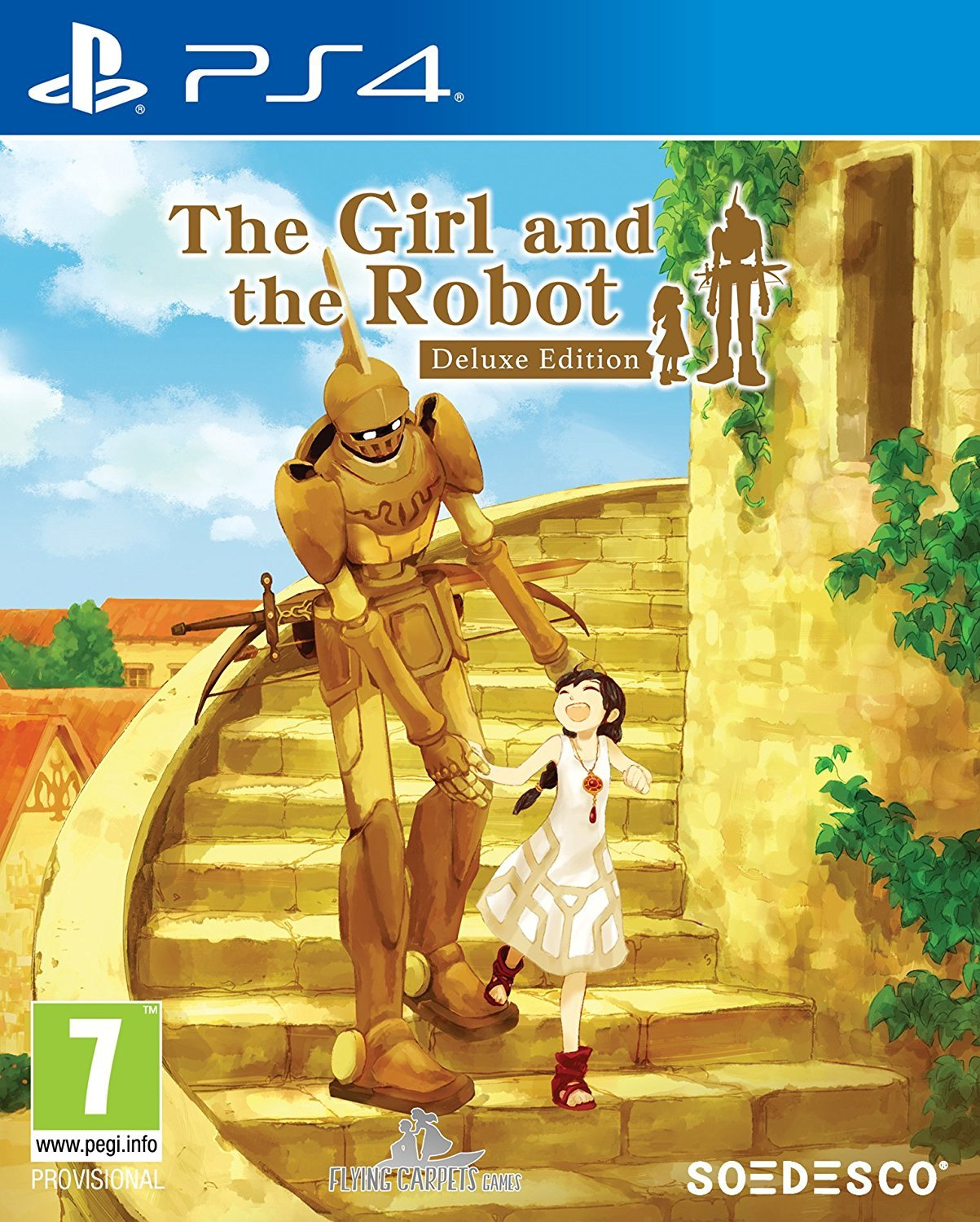 The Girl and the Robot Deluxe Edition for PS4 image