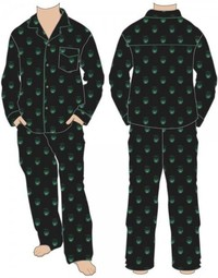 Marvel: Hulk All Over Print - Pajama Set (Medium)