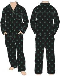 Marvel: Hulk All Over Print - Pajama Set (Medium)