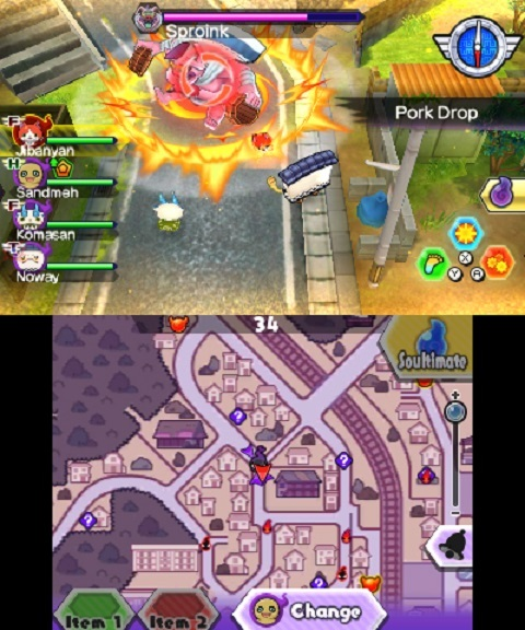 Yo-Kai Watch Blasters Red Cat Corps for Nintendo 3DS image