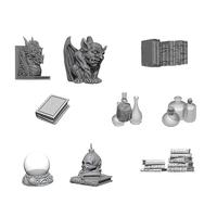 Wizkids Deep Cuts: Unpainted Miniatures - Wizards Room