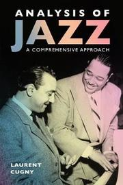 Analysis of Jazz by Laurent Cugny