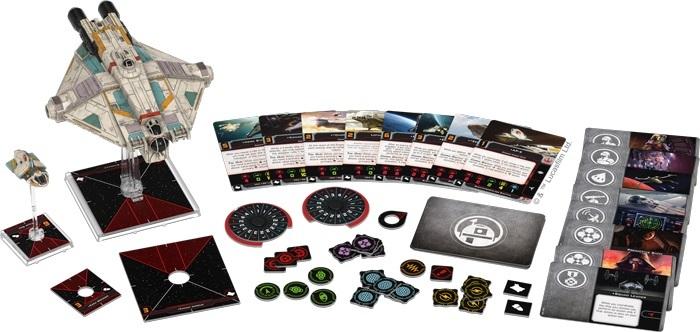 Star Wars X-WING Miniatures X-Wing Expansion Pack GIOCHI UNITI ITALIAN