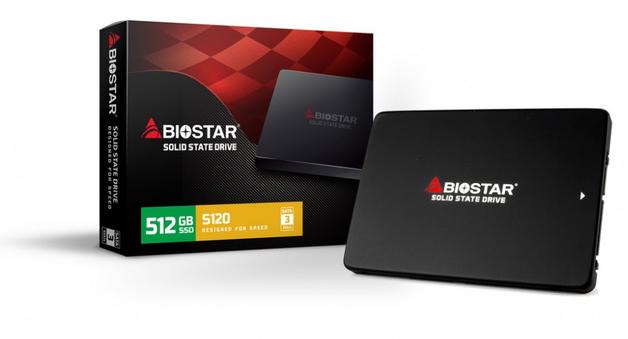 """512GB BIOSTAR S120 2.5"""" SSD"""