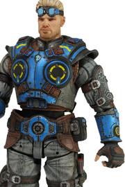 Gears of War Judgment Damon Baird Action Figure