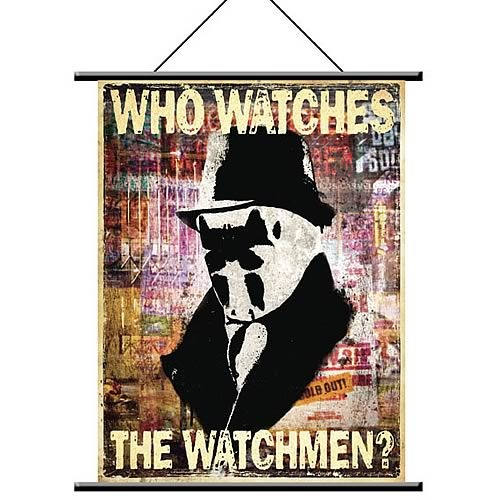Watchmen Rorschach Wall Scroll