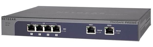 Netgear ProSafe Dual WAN Gigabit SSL VPN Firewall | at