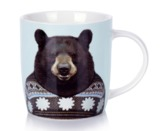 Annabel Trends: Zoo Portraits Coffee Mug - Bear