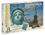 Italeri: 1:250 Statue Of Liberty: World Architecture - Model Kit