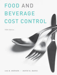 Food and Beverage Cost Control: Study Guide by Lea R Dopson image