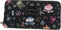 Loungefly: Pokemon Multi Character - Zip-Around Wallet