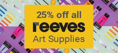 25% off Reeves Art Supplies!