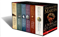 A Game of Thrones: The Story Continues (Volumes 1-5) 6 Books by George R.R. Martin image