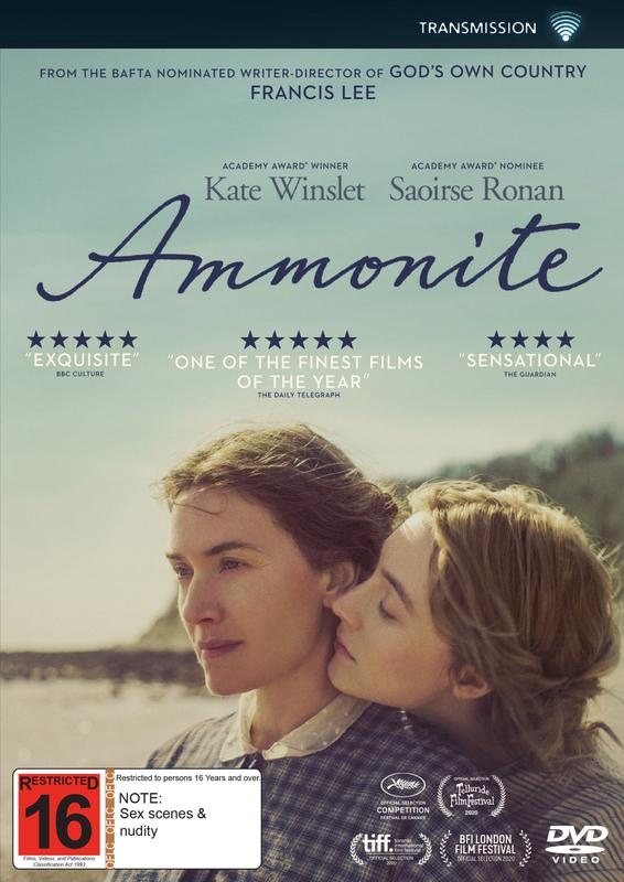 Ammonite on DVD