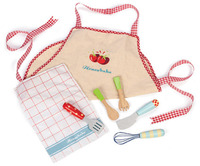 Le Toy Van: Apron and Utensil Play Set