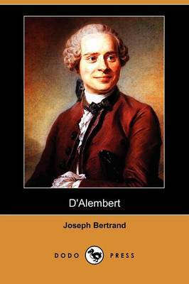 D'Alembert (Dodo Press) by Joseph Bertrand image