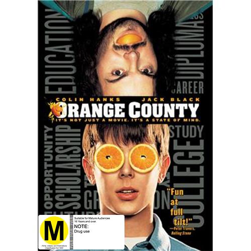Orange County on DVD