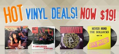 $19 Vinyl Record Deals!